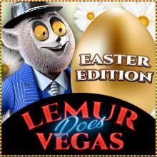 Lemur Does Vegas Easter Edition
